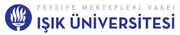 FMV Işık Üniversitesi  Logo