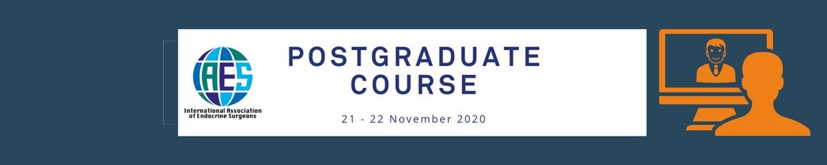 IAES Postgraduate Course